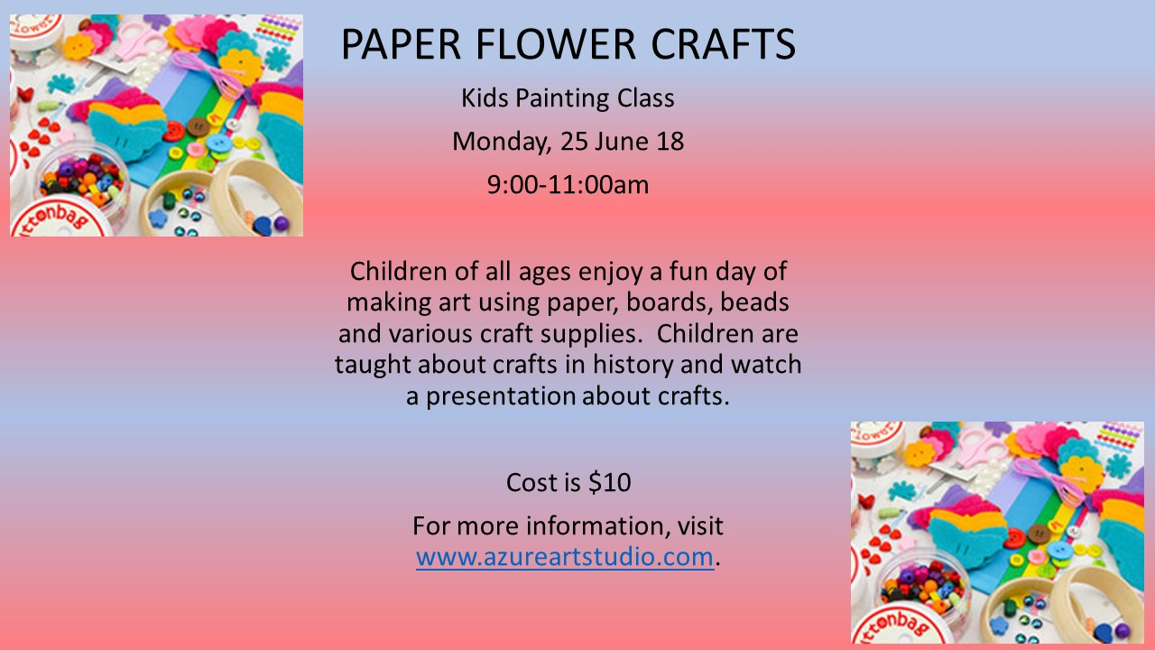 Children of all ages enjoy a fun day of making art using paper 009943995b